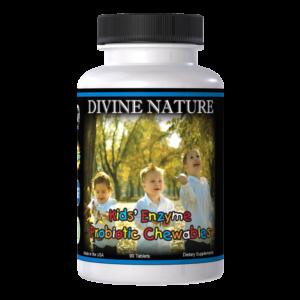 kids enzymes and probiotics divine nature